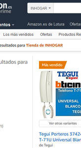 Inhogar vende sus productos en amazon